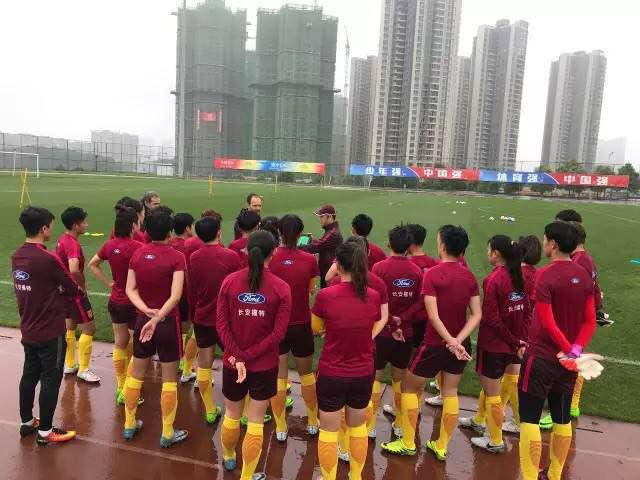 2017女足足协杯赛潍坊开战,众国脚竞相争辉!